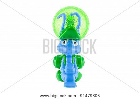 Flik With A Leaf Backpack Figure Toy