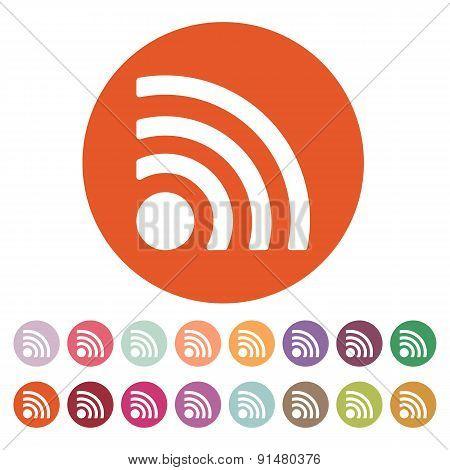 The Wireless Icon. Wifi Symbol.