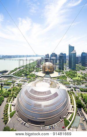 Hangzhou,China-May 12,2015:The landmark