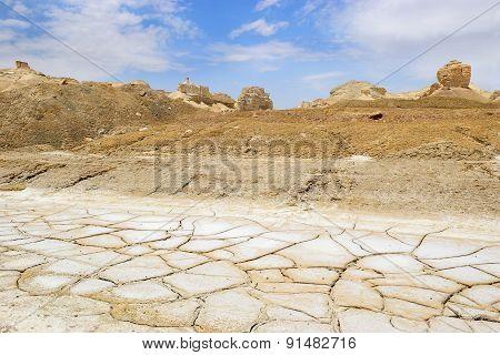Landscape Near The Dead Sea, Israel