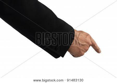 Hand Push Something