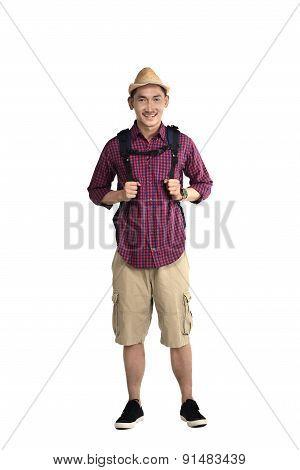 Asian Traveler Man