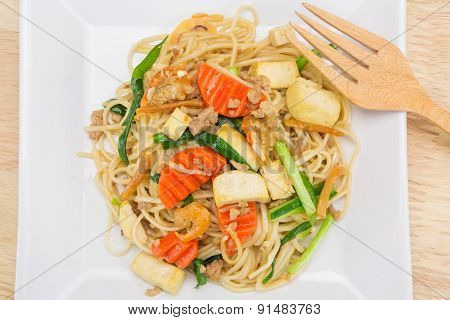 Stir-fried Noodles, Chinese Style