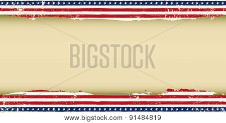 Greeting American background. A greeting American background for your publicity