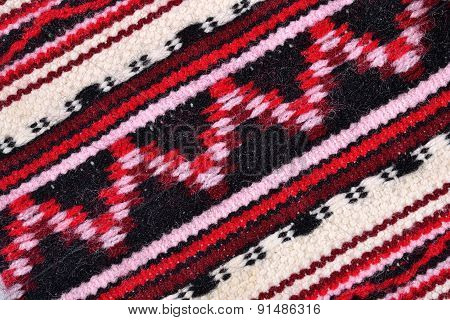 Hand Woven Patterned Fabric