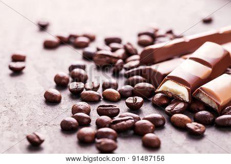 Chocolate Milk And Coffee