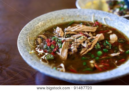 chinese noodles in bowl