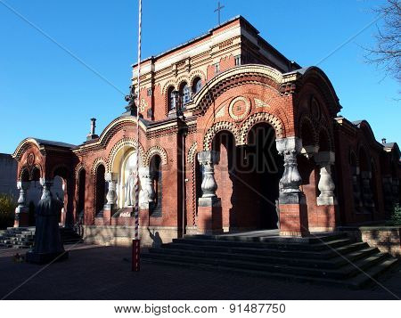 Church of St. George in Lodz.