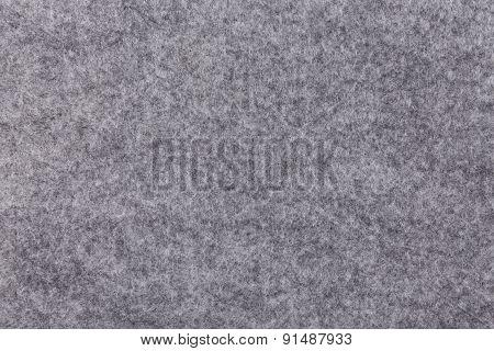Grey Felt As Background Or Texture