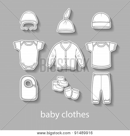 Baby Fashion Clothing, Fashion, Vector, Shirt, Illustration, Design, Wear,