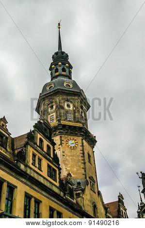 Old Building In Dresden