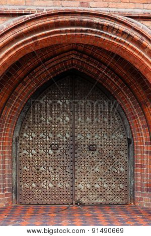 Doors Of St Anne's Church