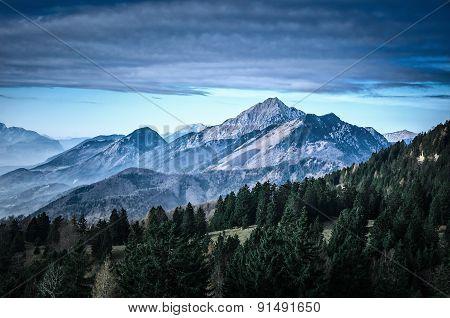Slovenia Scenic Mountain Landscape