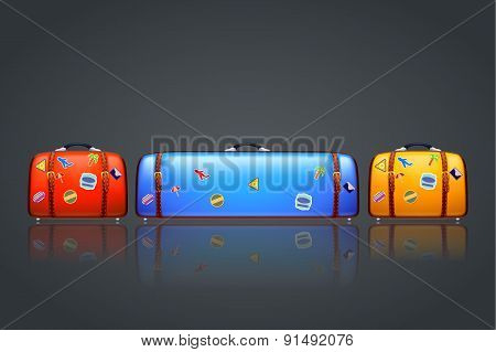 too big suitcase