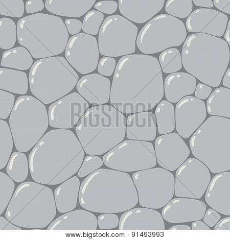 Seamless pattern or background of paving stones