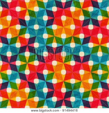 Colored Cloth Seamless Pattern