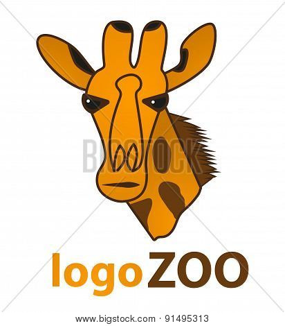 Giraffe Logo vector design template.