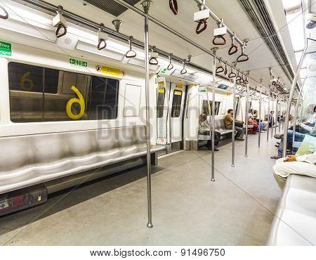 Passengers In The Metro