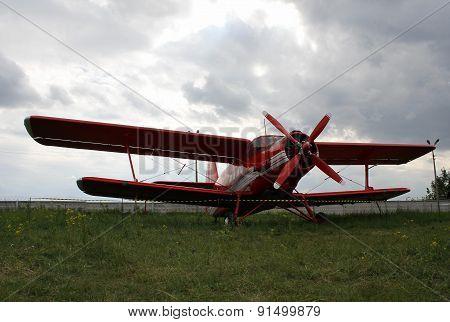 Rescue biplane