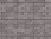 Brick Wall Seamless Background Small Bricks In Grey poster