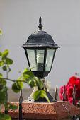 image of lamp post  - Lamp in garden - JPG