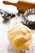 stock photo of food preparation tools equipment  - Baking background - JPG