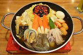 stock photo of korean  - Korean hotpot - JPG
