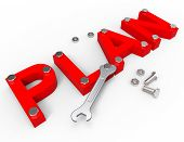 picture of enterprise  - Make A Plan Representing Project Management And Enterprise - JPG