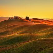foto of senesi  - Tuscany rural landscape in Crete Senesi land - JPG