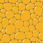picture of pavestone  - Seamless pattern or background of paving stones texture with glints - JPG