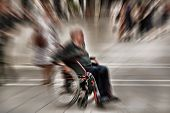 picture of disability  - Abstract background - JPG