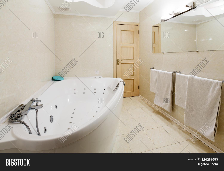 Interior Design Hotel Bathroom Image Photo Bigstock