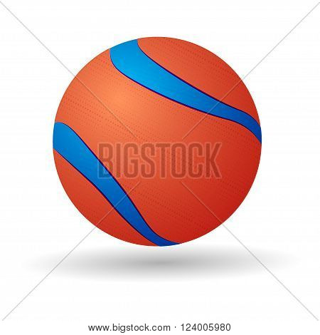 Dog Balls From Tennis To Rubber, realistic illustration of  tennis ball, isolated on white background