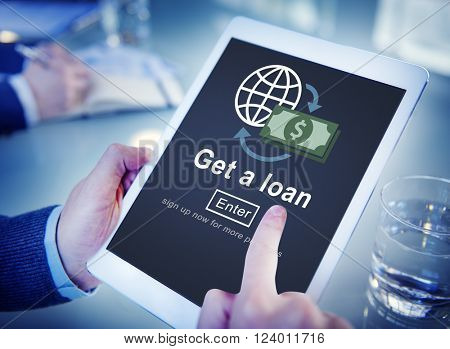 Loan Borrowing Budget Capital Credit Accounting Concept