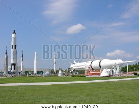 Rocket Garden At Nasa
