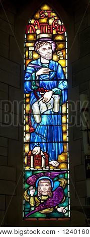 St. Matthew Stained Glass