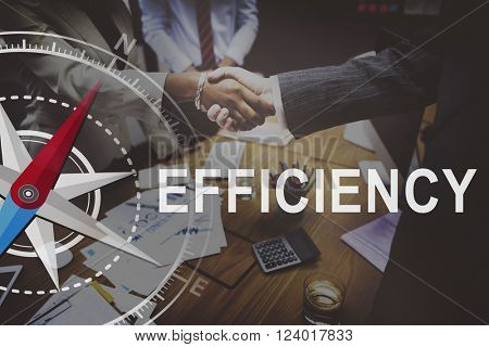 Efficiency Excellence Ability Quality Success Growth Concept