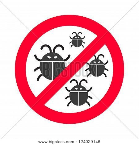 Virus bugs vector. Virus bugs illustration. Virus bugs isolated on white. Virus bugs icon, virus bugs isolated. Virus bugs silhouette. Virus bugs flat style. Black virus bugs, virus bugs design