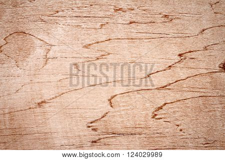 Closeup shot of a aged plywood texture