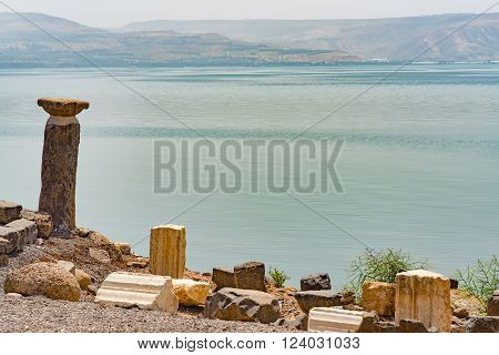 Capernaum On The Coast Of The Lake Of Galilee