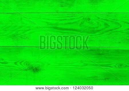 Neon green wood texture as background texture.