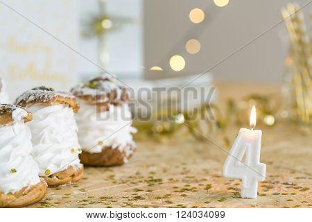 Celebrating 4Th Birthday
