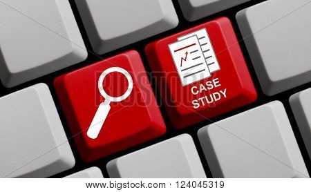 Search for case study online - Symbols on computer keyboard