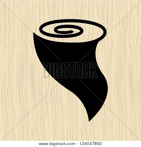 twister icon  design, vector illustration eps10 graphic