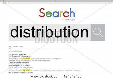 Distribution Distribute Distributed Concept