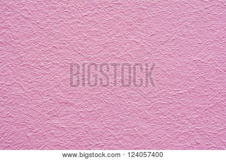 Abstract pink wall plastered texture. Rustic background