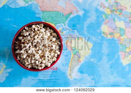 Popcorn And World