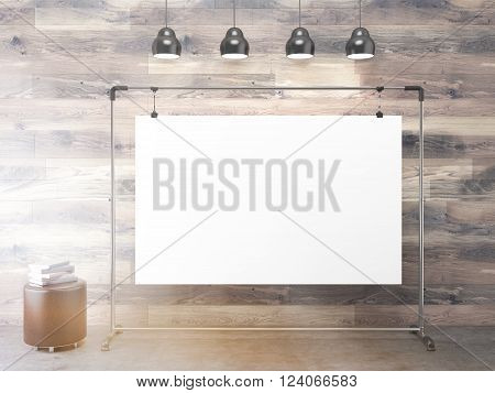Clip Board Under Lamps