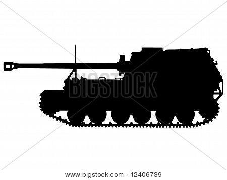 ww2-反坦克装甲车 库存矢量图和库存照片