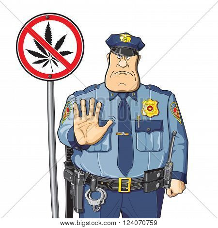 Police warns - do not use cannabis and drugs